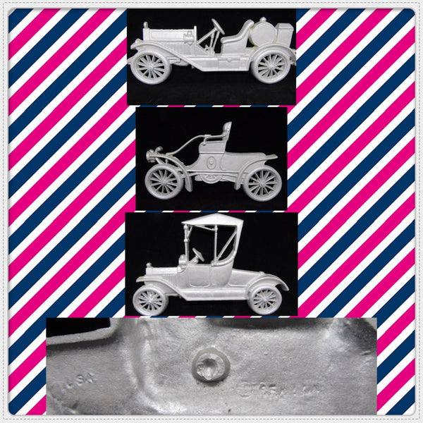 Wall Art Display Old Cars Metal Vintage 1960, 70S 3 SEXTON Unpainted Silver Wrought Iron Wall Art - JAMsCraftCloset