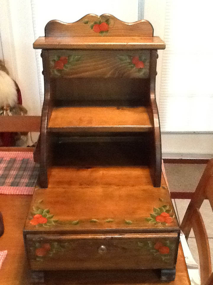 Cash Register Handmade Hand Painted Vintage Craft Show Business Owner Collector - JAMsCraftCloset