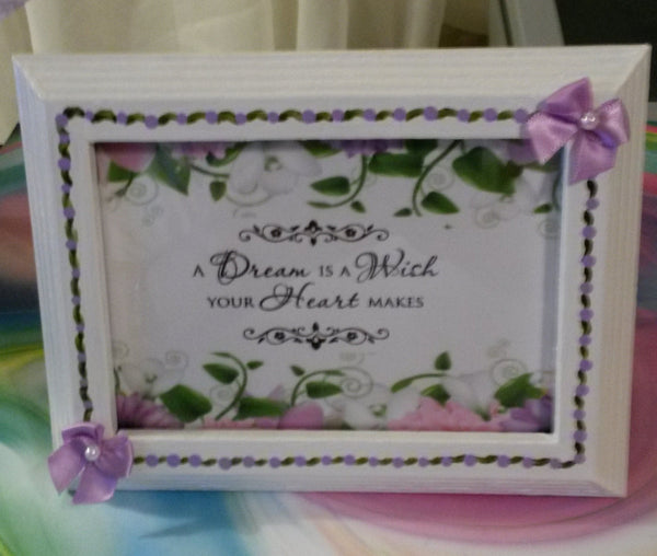 Affirmation Saying DREAM is a WISH - JAMsCraftCloset