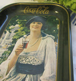 Serving Tray Coca Cola Advertising For the Collector of Advertisements Vintage 1973 - JAMsCraftCloset