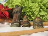 Santas Lead Antique Made in 1905  Set of 3  For the Serious Antique Collector - JAMsCraftCloset