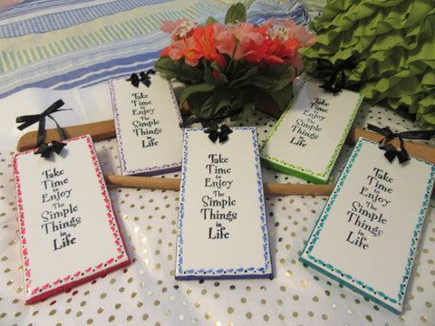 Affirmation Ceramic Tiles SIMPLE THINGS in LIFE - JAMsCraftCloset