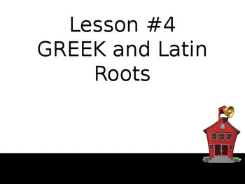 Greek and Latin Roots-Complete Teacher Lesson With Activities and Pretest and Posttest Assessments JAMsCraftCloset
