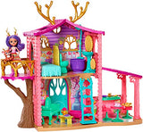 Enchantimals COZY DEER HOUSE PLAYSET + DANESSA DEER DOLL & SPRINT