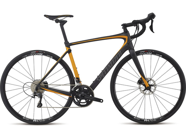 2017 ROUBAIX COMP - Carbon/Orange/Charcoal 54