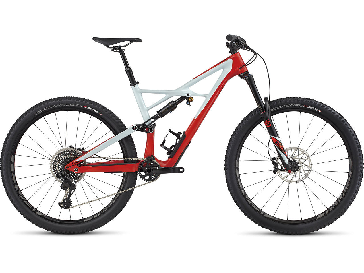 ENDURO FSR PRO CARBON 29/6FATTIE - Rocket Red/Baby Blue/Black LG