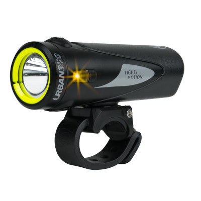 Urban 350 Rechargeable Headlight: Obsidian Stout