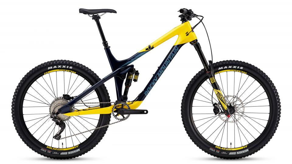 Slayer 750 MSL 2017, Yellow/Blue, Large