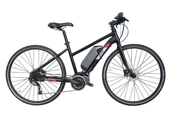 Evo e-Bikes, Step MD-1, Electric bicycle, Black, L