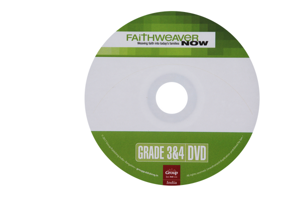 FaithWeaverNow Year 2 DVD - Grade 3&4