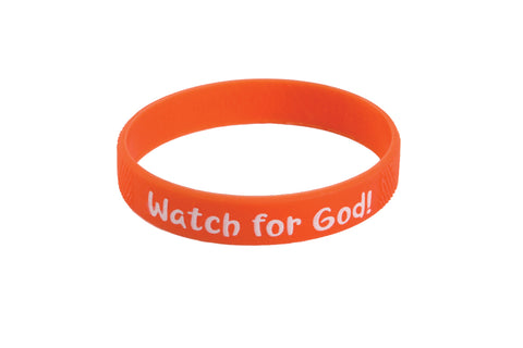 Watch for God Wristbands