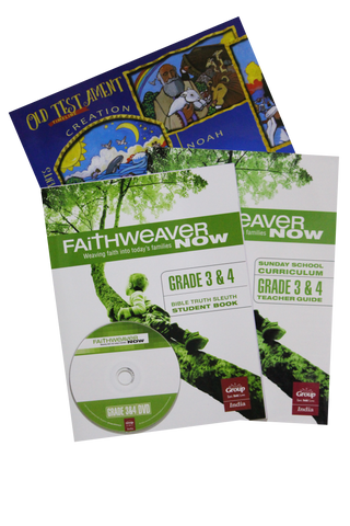 FaithWeaverNow Year 2 One Class Package - Grade 3&4