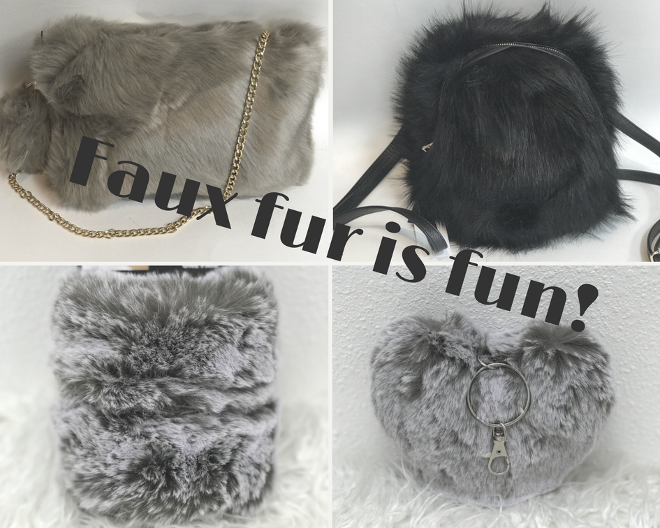 Faux fur is fun!