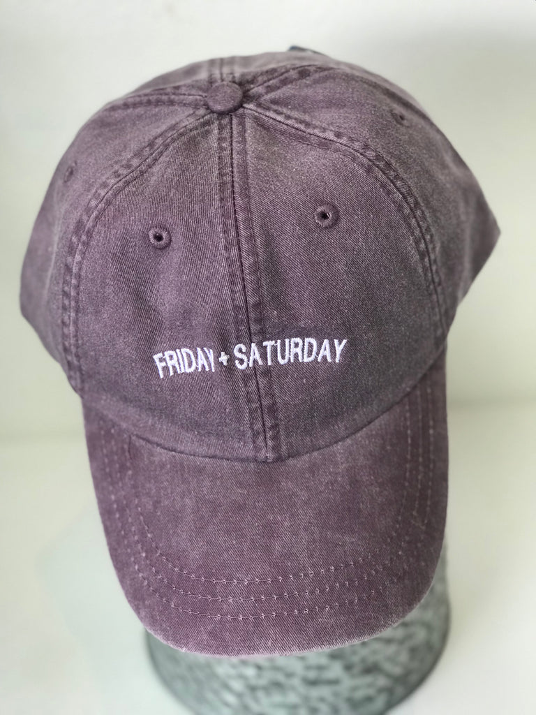 Friday + Saturday cap