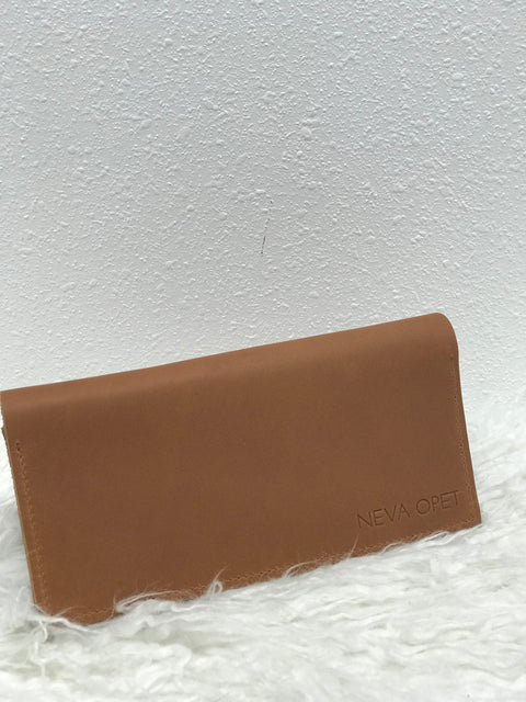 Ida Long Wallet- Sienna