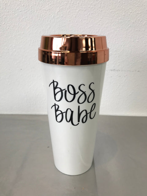 Boss Babe To Go Mug