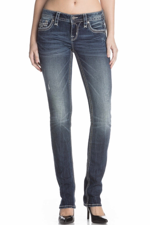 Rock Revival Yui Straight Leg Jean