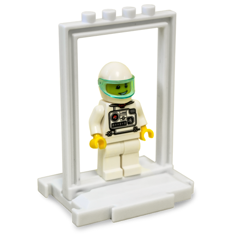 Brick Figure Frames 100-Pack for LEGO Minifigures
