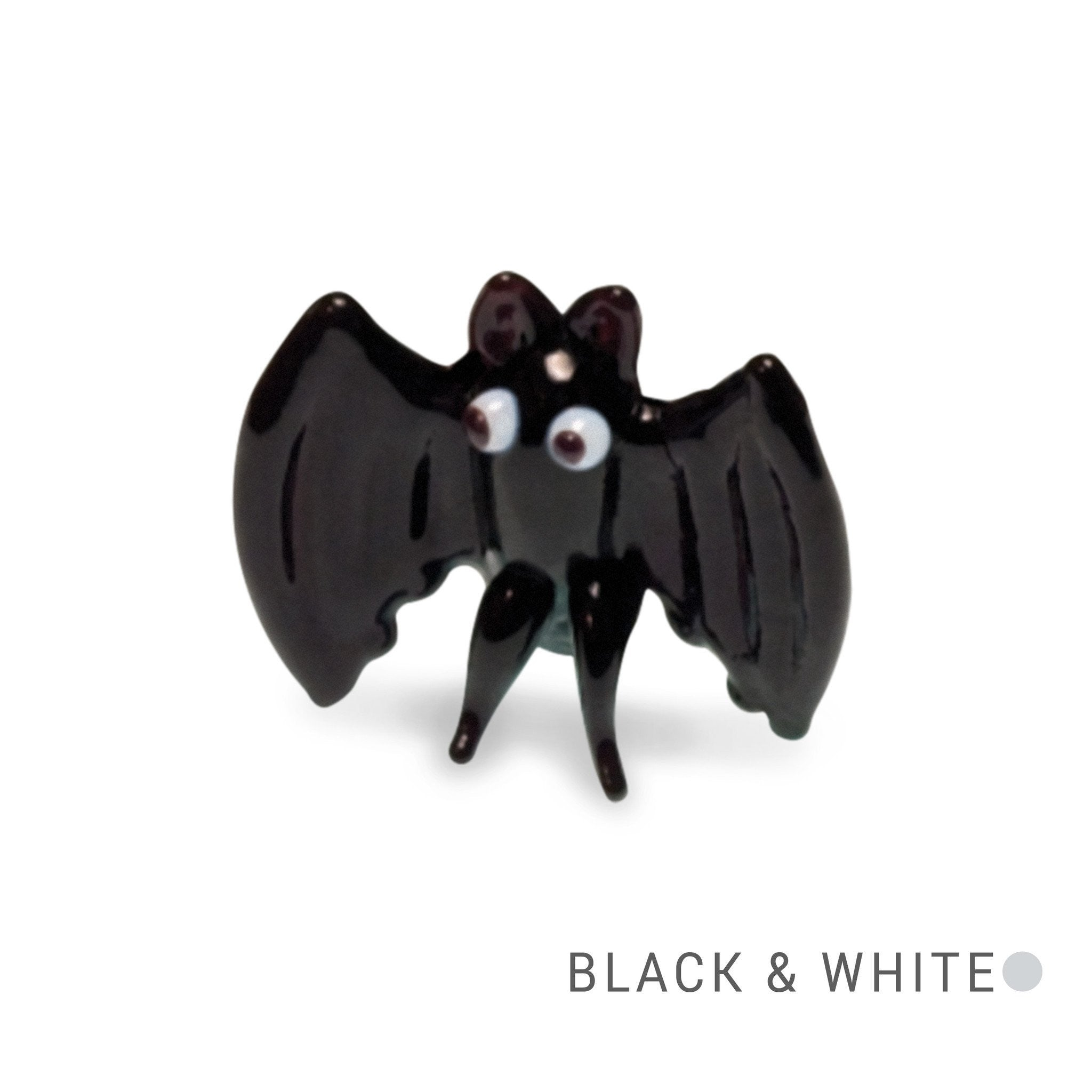 Boo the Bat (in Tynies Collector's Frame) Miniature glass figurines