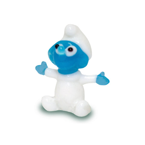 Baby Smurf (in Tynies Collector's Frame) miniature glass figurines