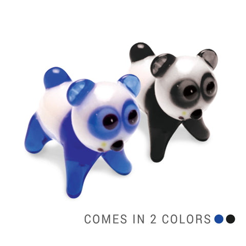 Chu the Panda (in Tynies Collector's Frame) Miniature glass figurines