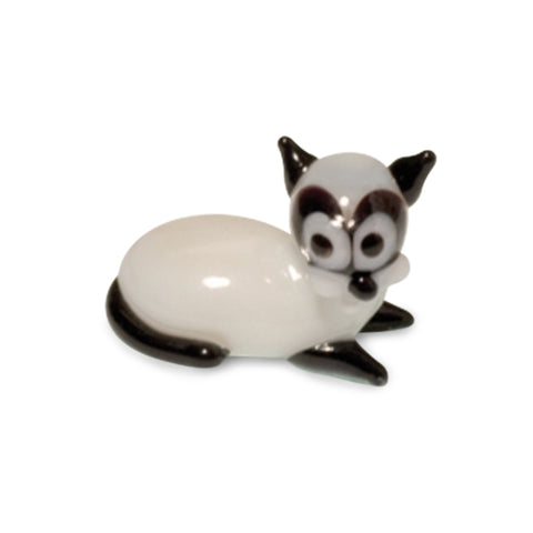Rex the Big Ear Mouse Collectible Miniature Glass Figurine in Tynies Collector's Frame