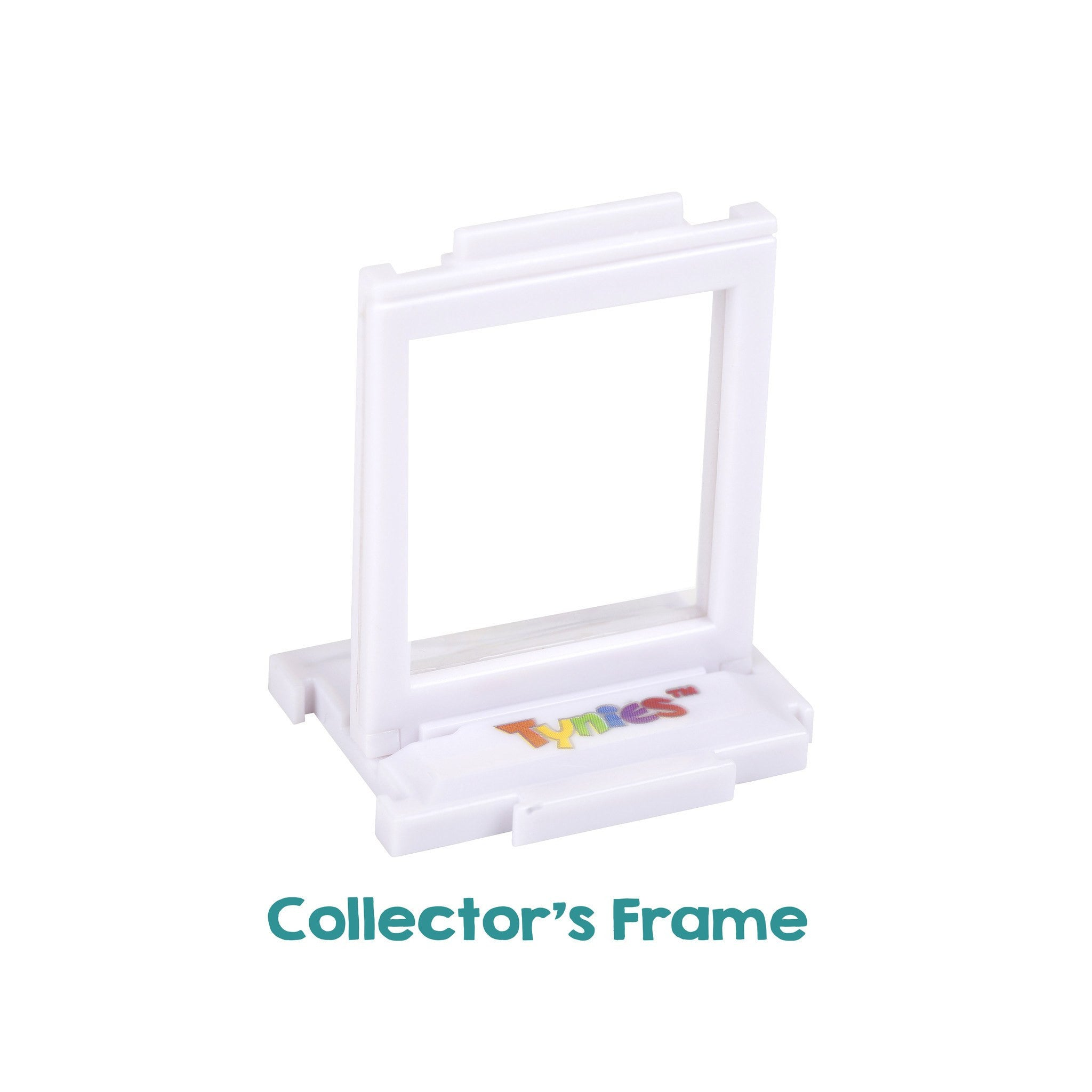 Collectors frame for miniature glass figurines