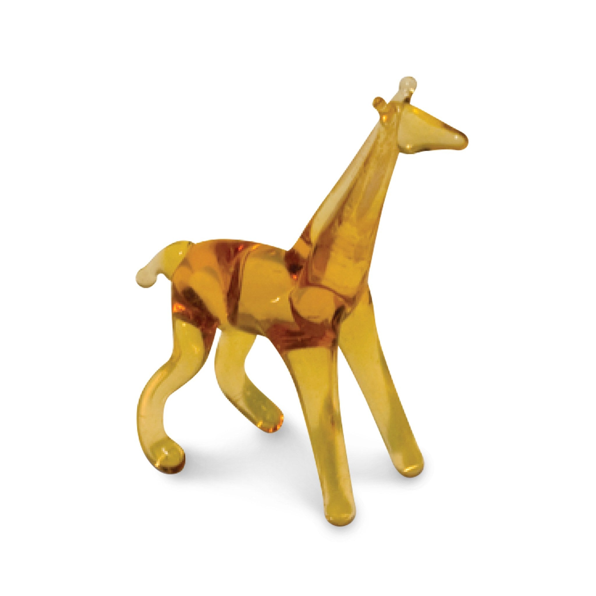 Gee the Giraffe (in Tynies Collector's Frame) Miniature glass figurines
