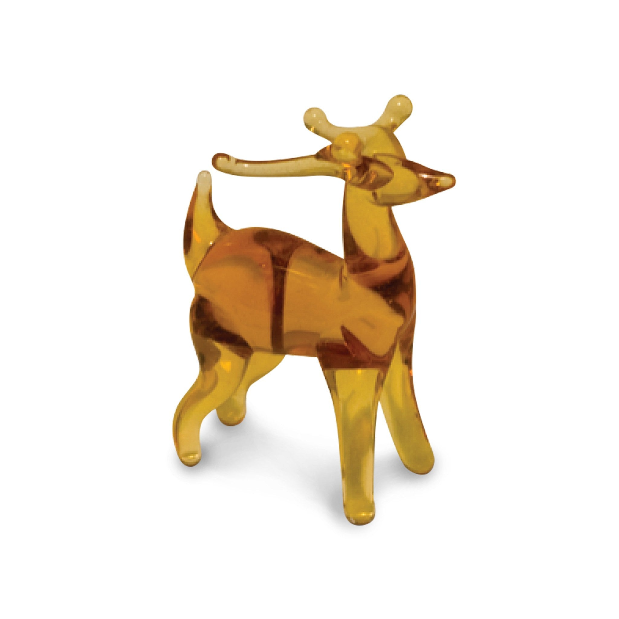 Gem the Deer (in Tynies Collector's Frame) Miniature glass figurines