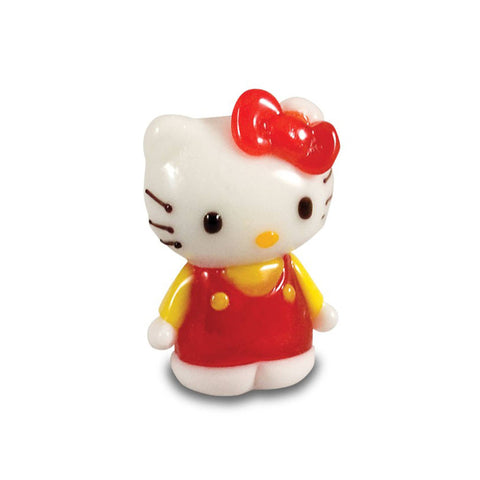 Hello Kitty - Red Dress, Yellow Shirt, Standing (in Tynies Collector's Frame)