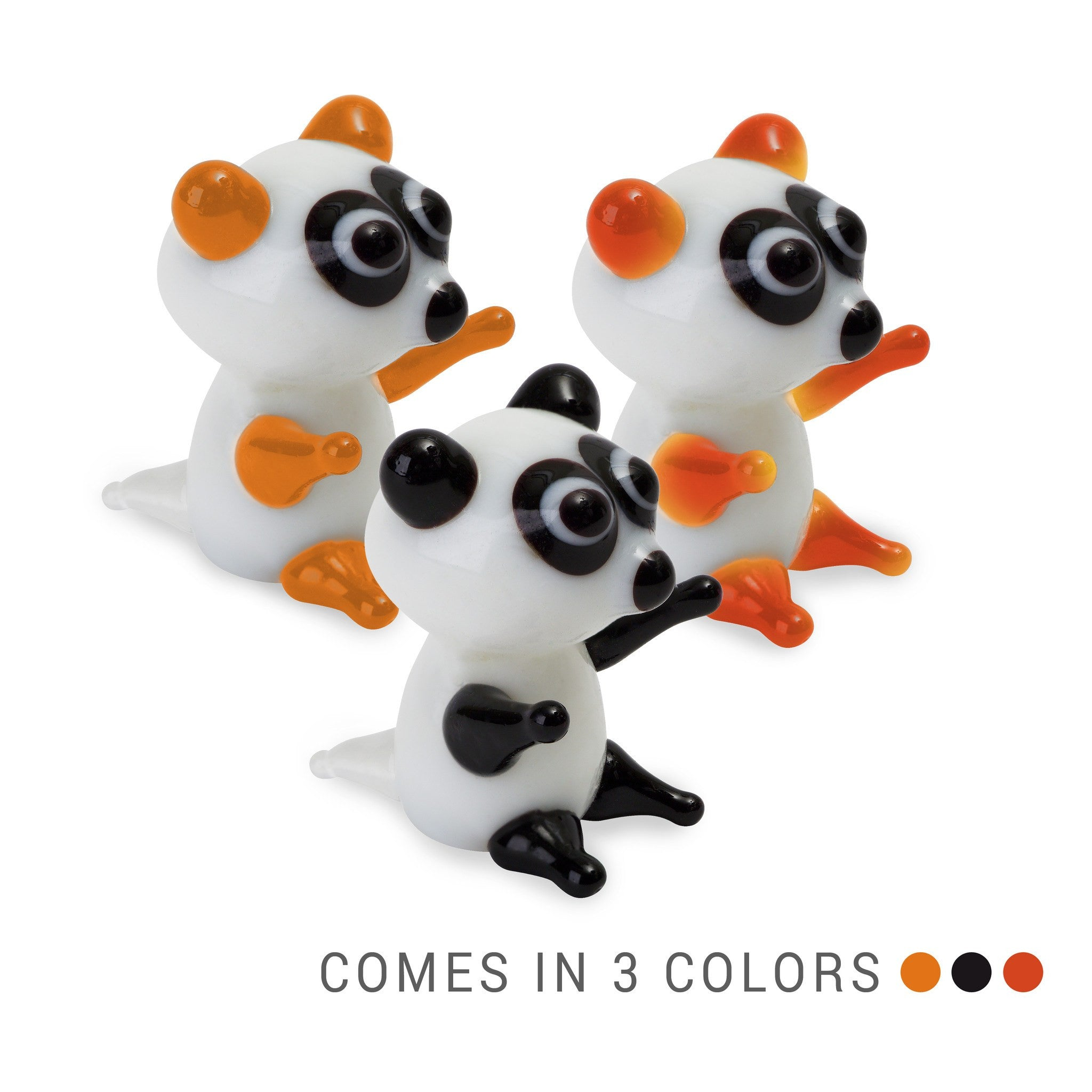 ONO the raccoon (in Tynies Collector's Frame) Miniature glass figurines