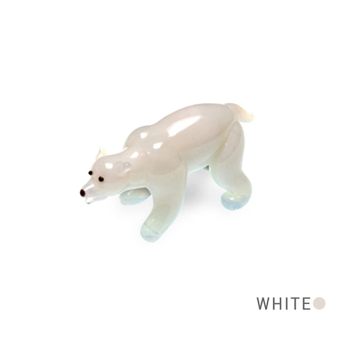 Snow the Polar Bear (in Tynies Collector's Frame) Miniature glass figurines