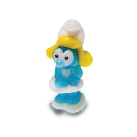 Smurfette - Smurfs (in Tynies Collector's Frame) Miniature glass figurines