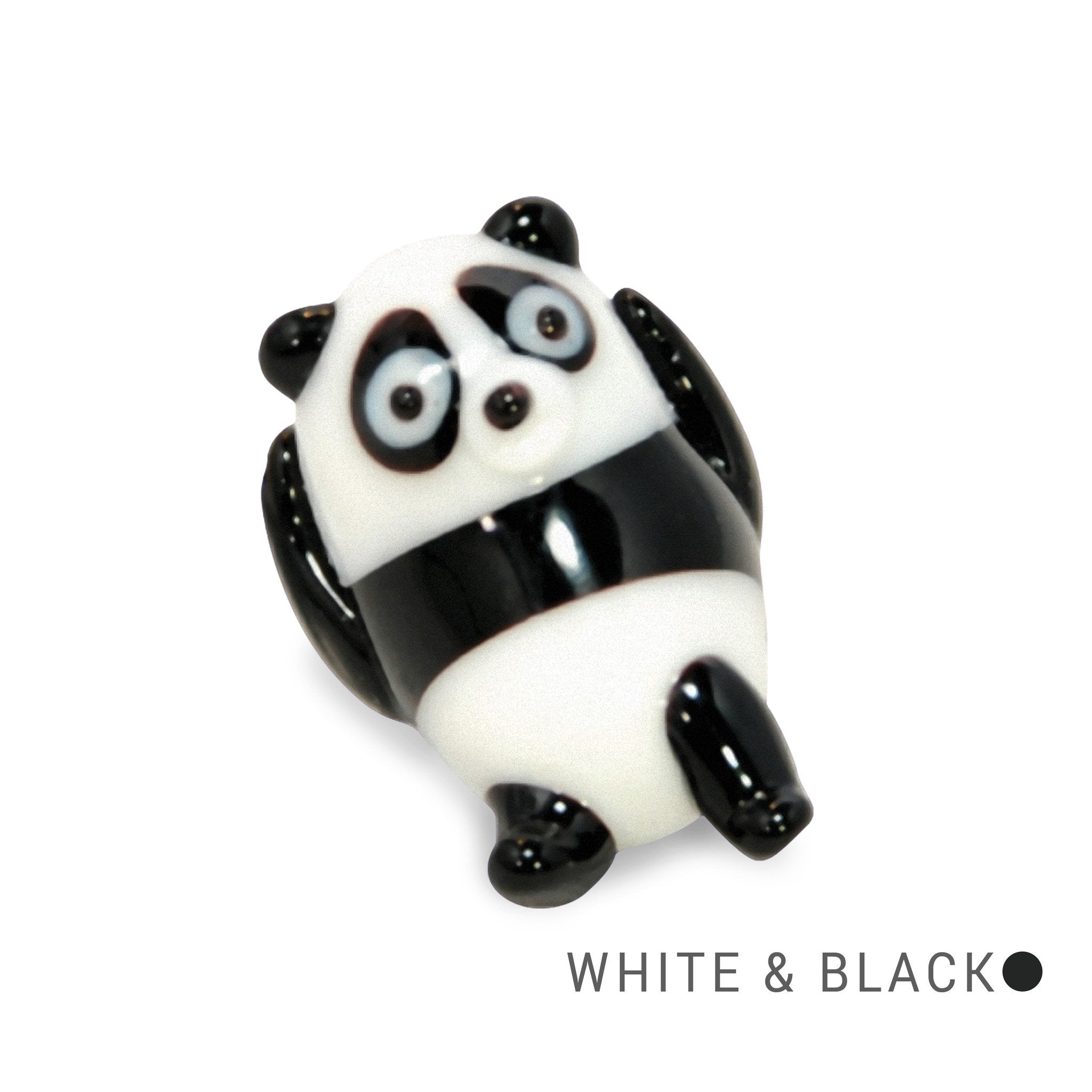 Tori the Panda (in Tynies Collector's Frame) Miniature glass figurines