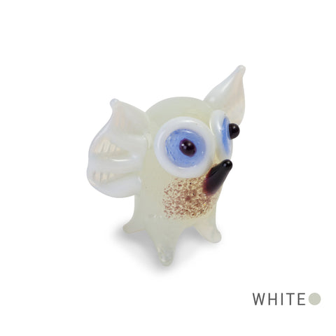 HOOT the owl Collectible Miniature Glass Figurine in Tynies Collector's Frame