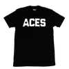 Aces Block Text SS Tee