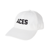 Aces Block Text Dad Hats
