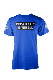 MCB VINTAGE TEE - MUSCLECITYBARBELL