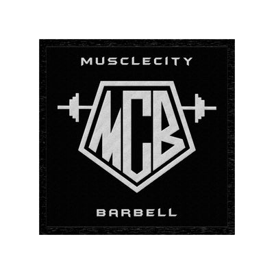 MCB VELCRO PATCH - MUSCLECITYBARBELL