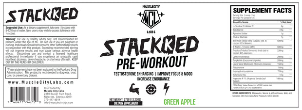 STACKKED PRE-WORKOUT
