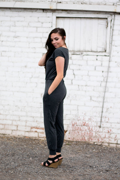 Jumpsuit in Gray