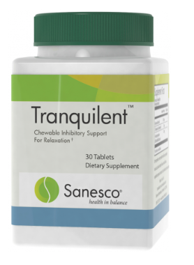 Tranquilent Sanesco 30 Chewable Tablets