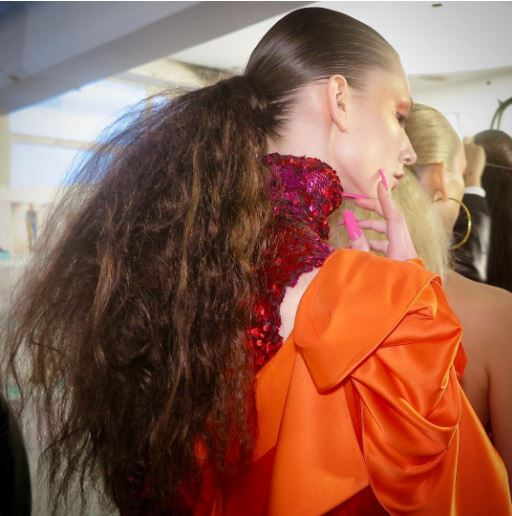 LFW FW18: Hair Trends