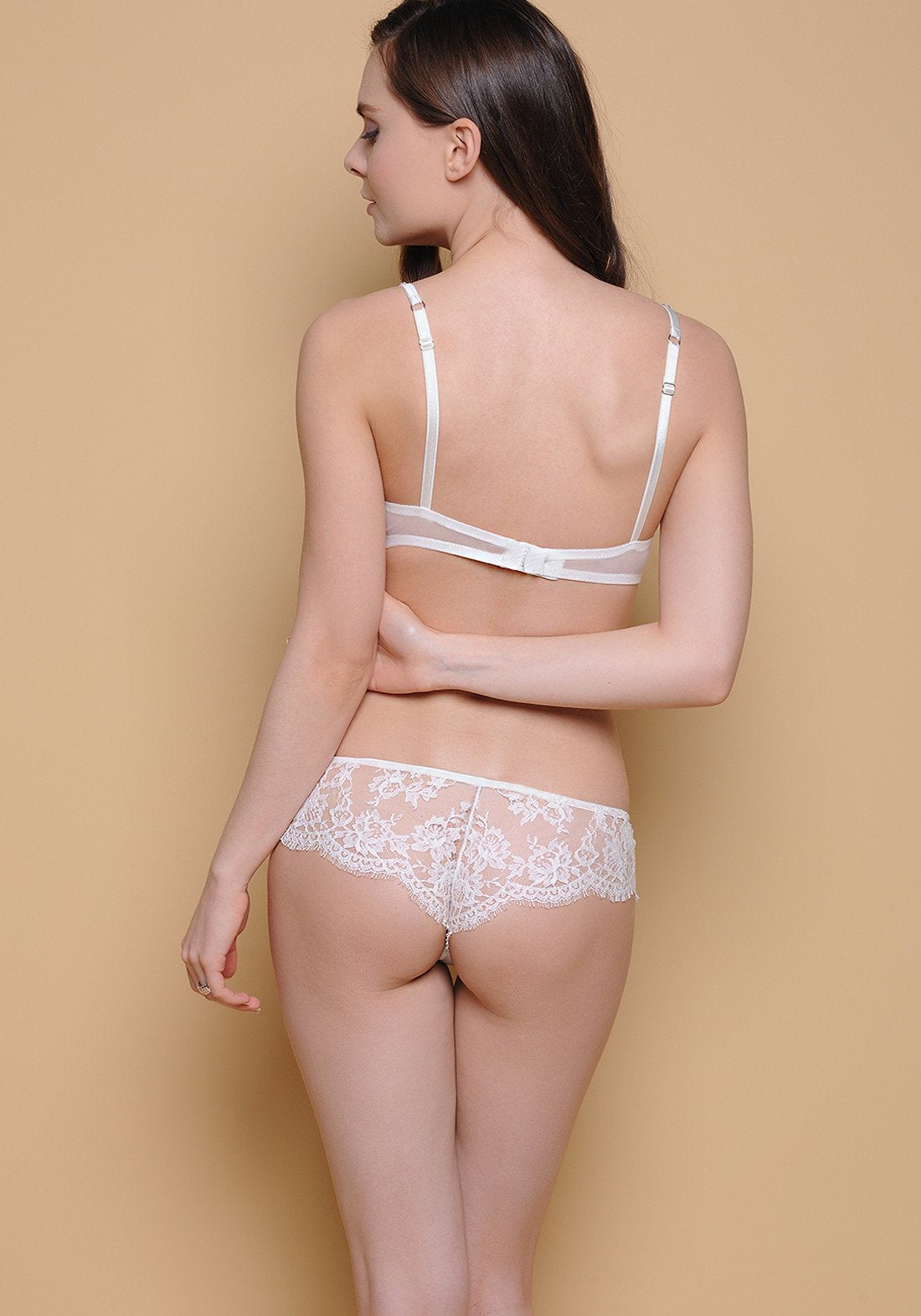 Allure d'Amour Push-Up Bra in Ivory