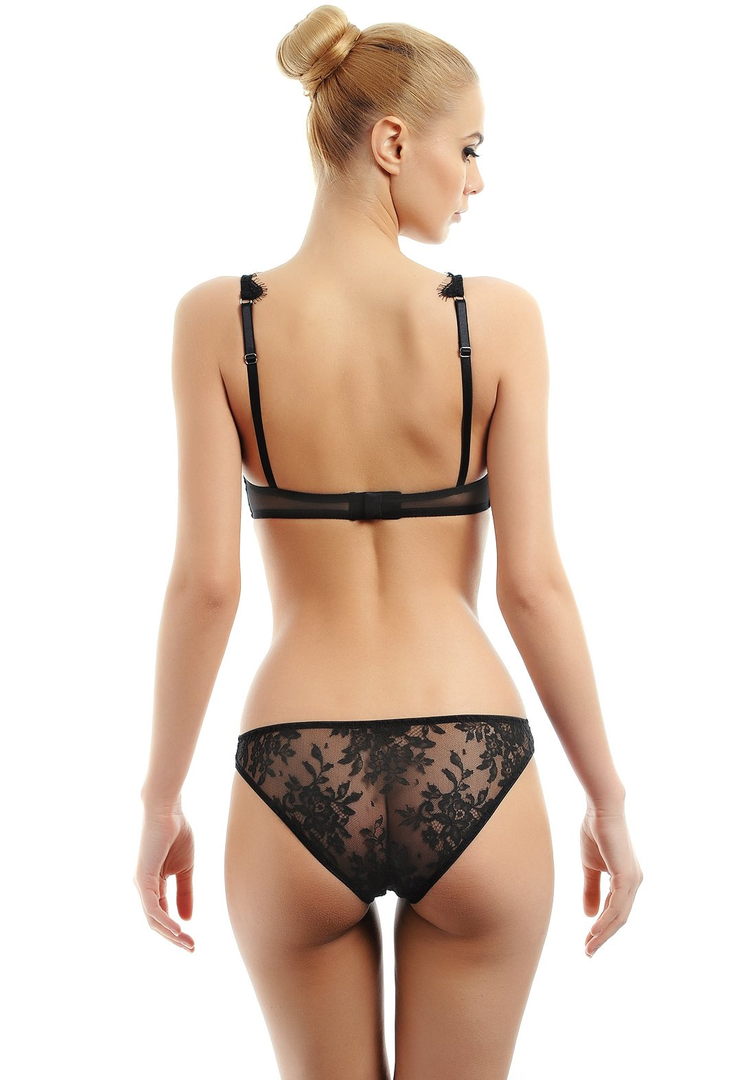 Vision d'Amour Triangle Bra in Noire