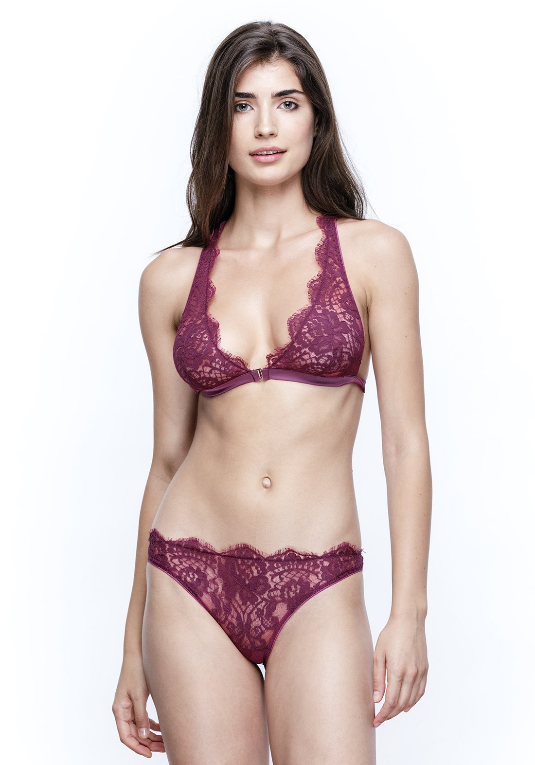 Colette Brief in Orchid