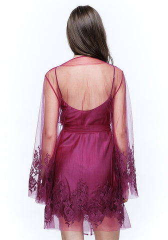 Colette Mini Robe in Orchid
