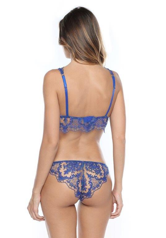 Selene Brazilian Brief in Royal Blue