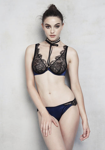 La Naissance d'Aphrodite V-String in Deep Blue