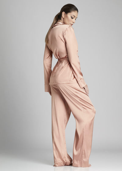 Desert Rose Pyjama Top in Rose Gold